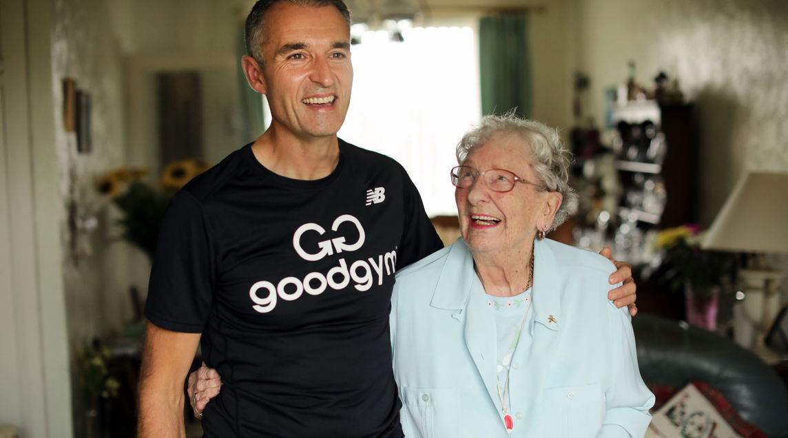 Good Gym National Intergenerational Week Page Header
