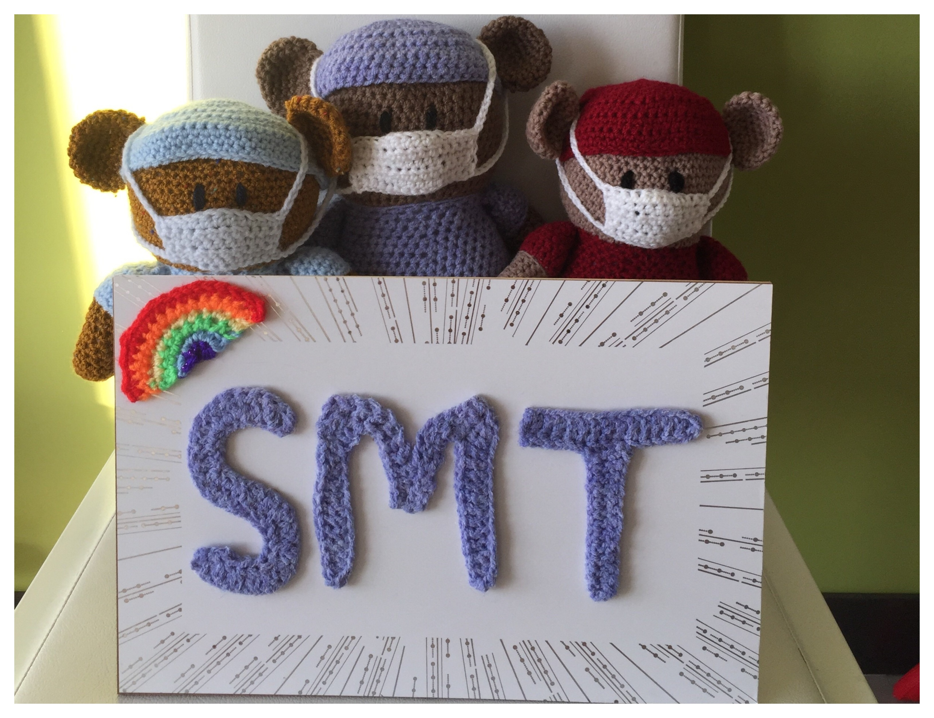 Knitted Bears By Laura