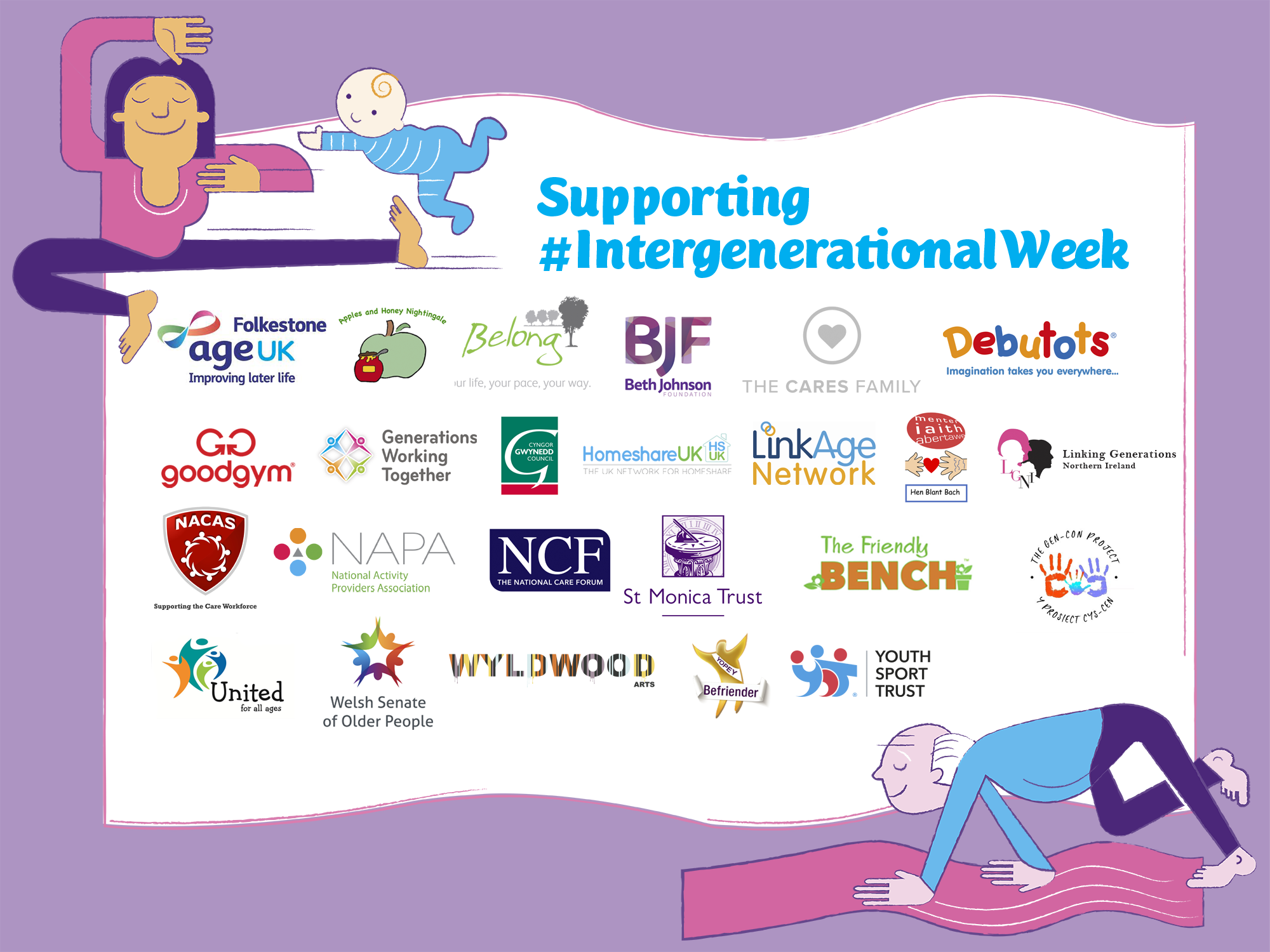 Logo Footer For Intergenerational Week
